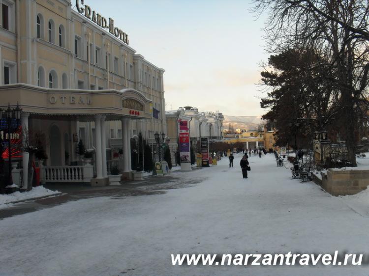 Курортный бульвар. Кисловодск