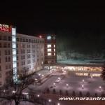 Санаторий Плаза Кисловодск. Фасад здания