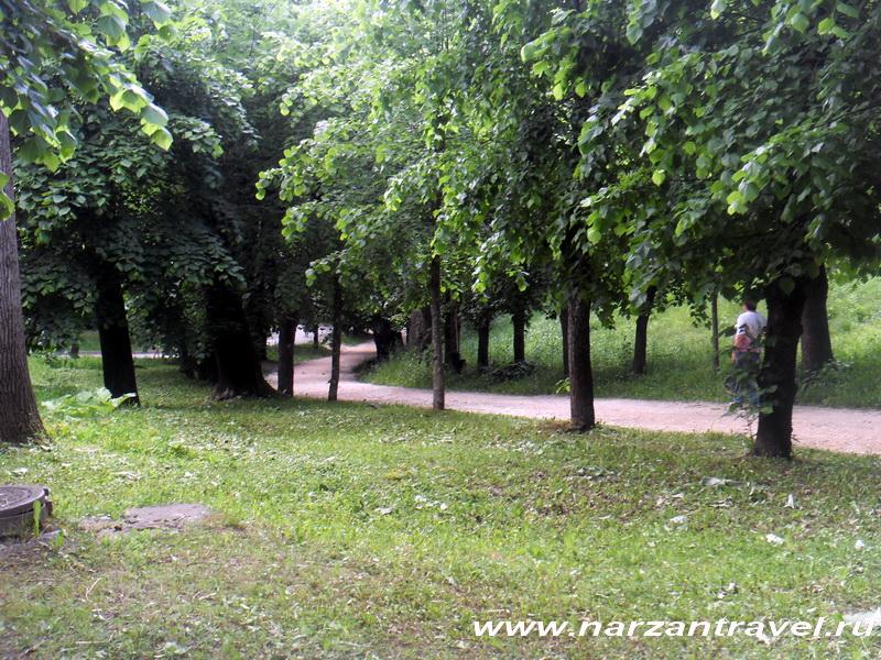 Дорожки Курортного парка Кисловодска