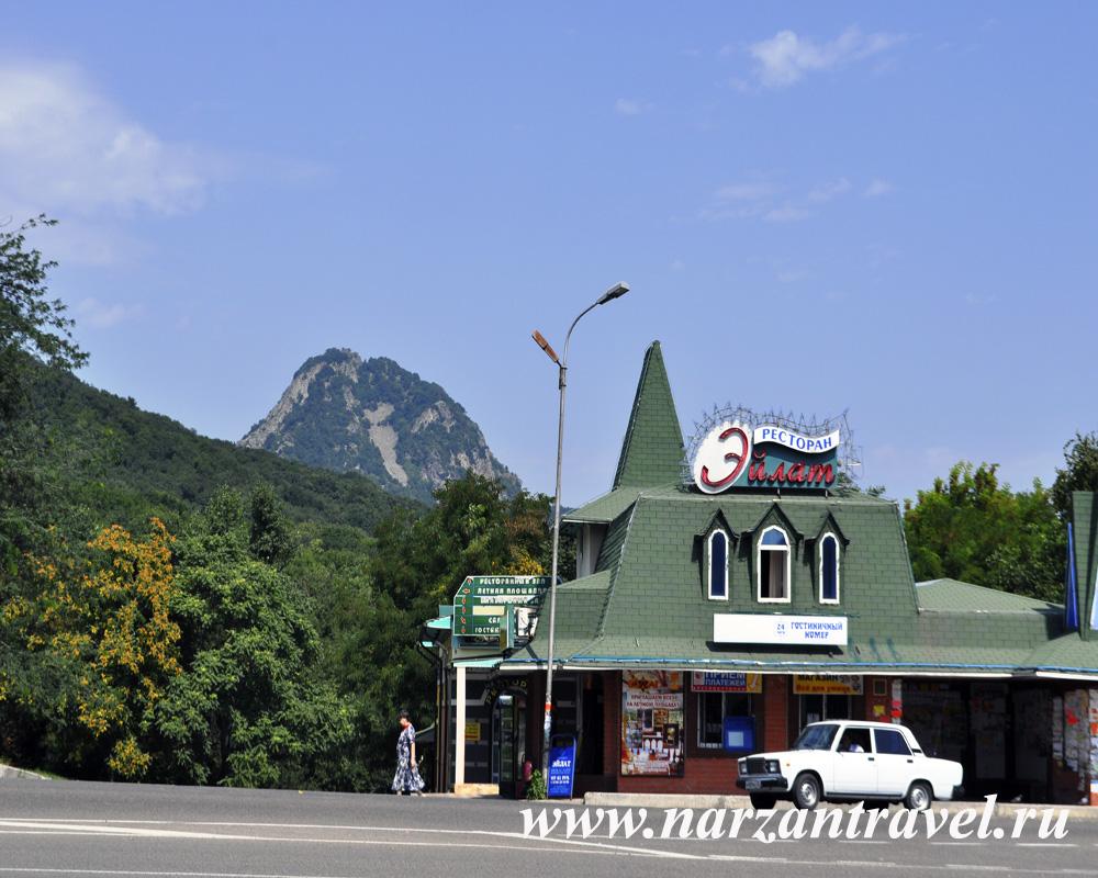 Гора Развалка в городе-курорте Железноводск.