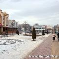Курортный бульвар. Зима. Кисловодск.