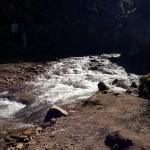 Медовые водопады. В теснине.