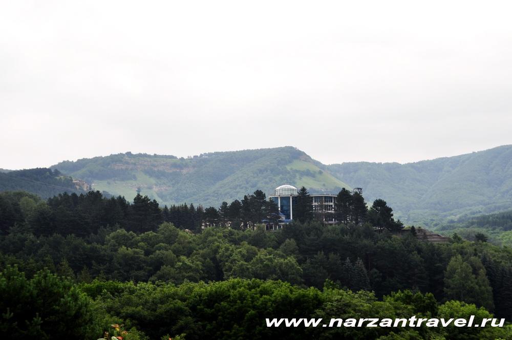 Вид на Храм Воздуха