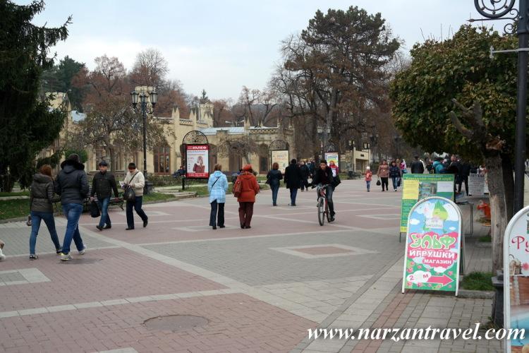 Кисловодск. Курортный бульвар.
