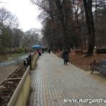 Набережная реки Ольховка. Ноябрь. Кисловодск