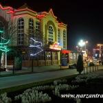 Курортный бульвар вечером. Кисловодск.