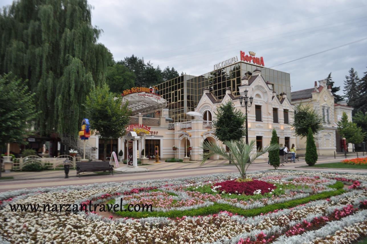 Гостиница Корона Кисловодск.